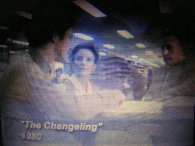 Microfilm librarian in The Changeling