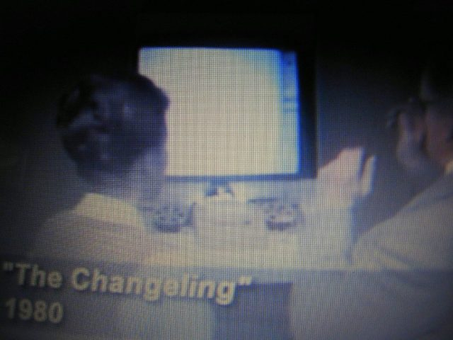 Microfilm in The Changeling