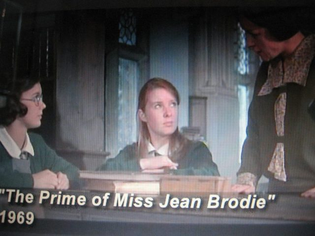 Shushing librarian in The Prime of Miss Jean Brodie