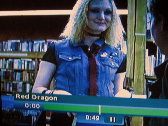 Bookseller, not librarian in Red Dragon