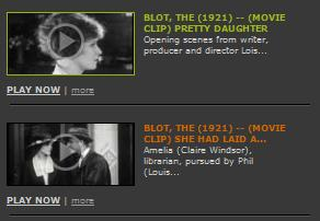 Click to view film clips from The Blot
