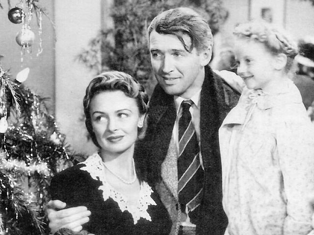 Screenshot from 'It's a Wonderful Life' is in the public domain