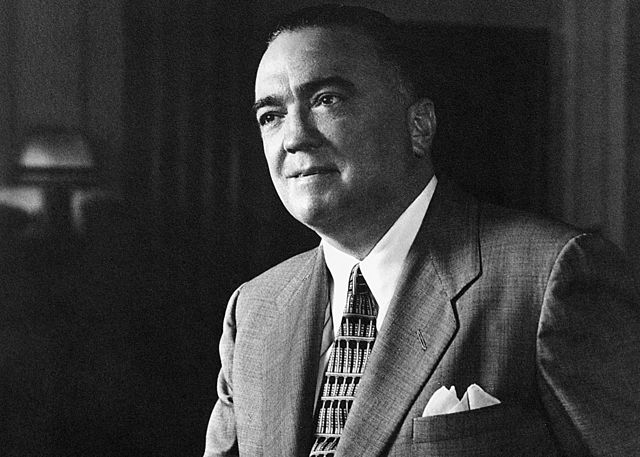 J. Edgar Hoover, FBI Photos, is in the public domain