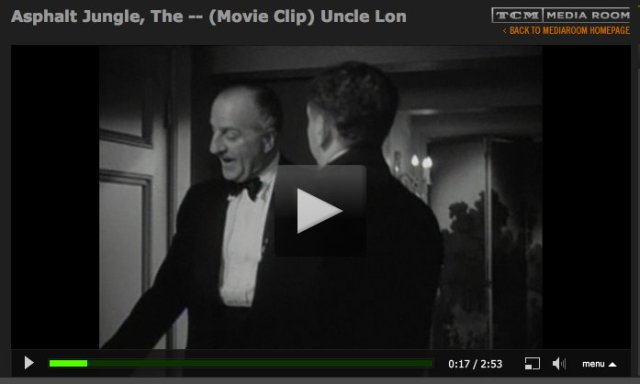 Clip from The Asphalt Jungle