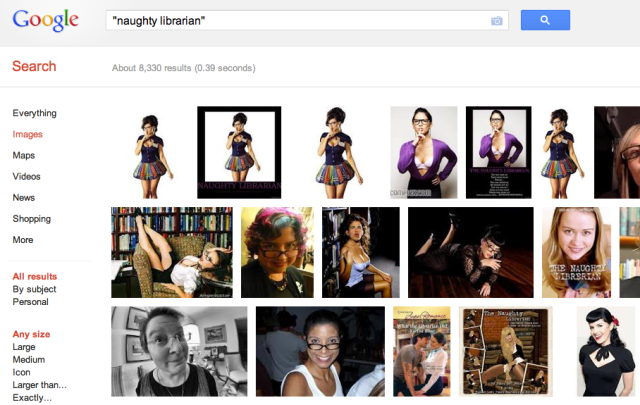 """Google image search for """"naughty librarian"""""""