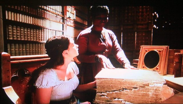 Hall of Records librarian in Ella Enchanted