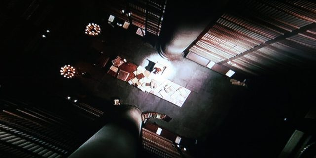 Bird's-eye view of the Hall of Records in Ella Enchanted