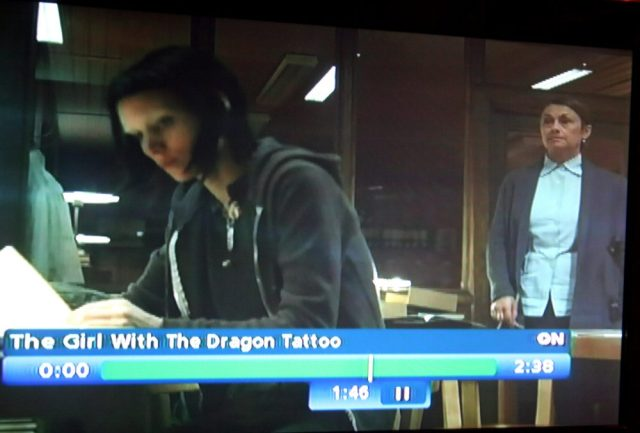 Lindgren the reel archivist in Girl with the Dragon Tattoo