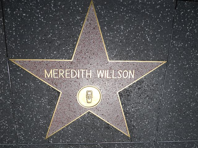 """Meredith Willson Star HWF"" by JGKlein is in the public domain"