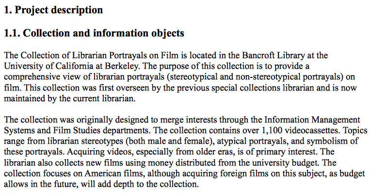 An unusual collection « Reel Librarians