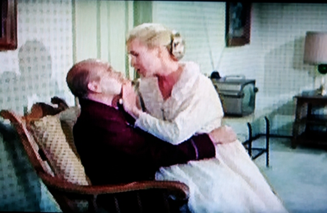 A reel librarian's tryst from That Touch of Mink (1962)