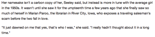 Marian Seeley interview in Daily Herald