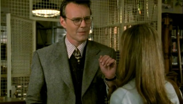 Giles the school librarian at Sunnydale High