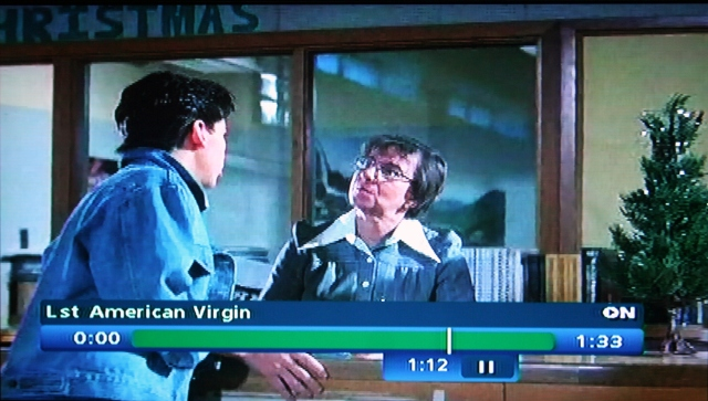 Reel Librarians | Screenshot from 'The Last American Virgin'