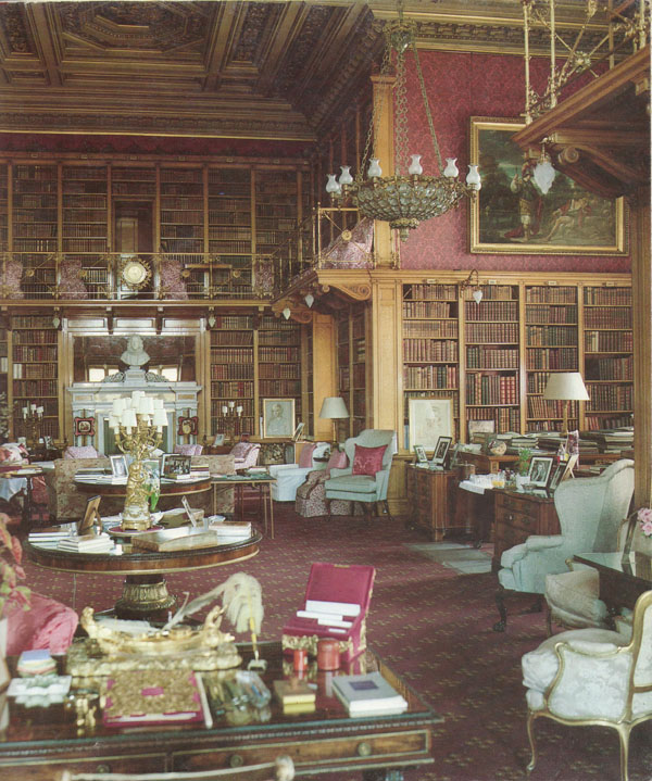 Alnwick Castle, England (I have an extensive collection of English Country House Library photos)