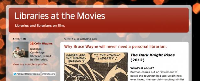 Libraries at the Movies