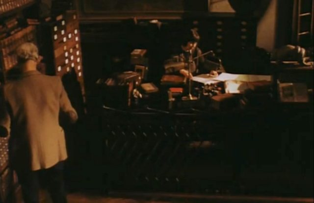Reference desk in Tale of a Vampire