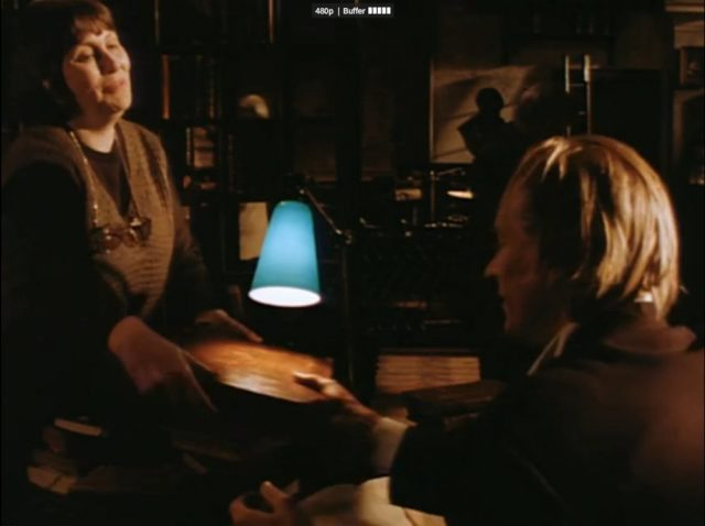 Denise the head librarian in Tale of a Vampire