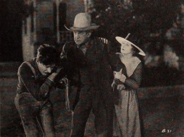Still from The Broken Gate, 1920, is in the public domain