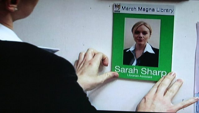 New librarian sign in Midsomer Murders episode