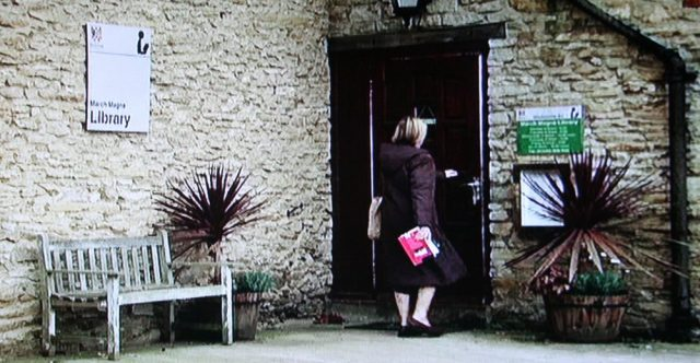 Library exterior in Midsomer Murders episode