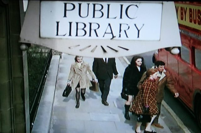 Library sign in Twisted Nerve