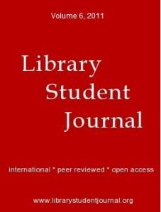 Library Student Journal 2011 image
