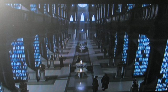 Library in Star Wars Episode II