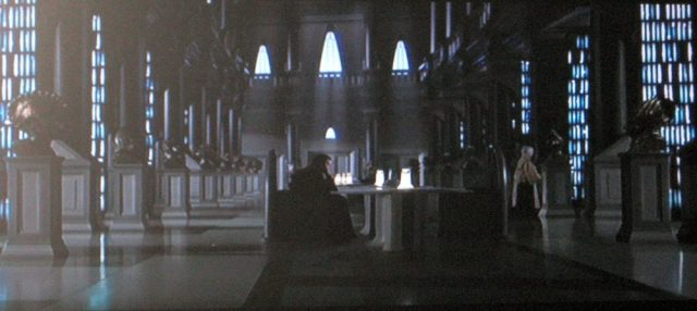 Obi-Wan contemplates his options after talking with the Jedi librarian in Star Wars Episode II
