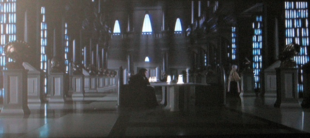 Reel Librarians:  Star Wars library scene