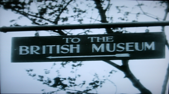 BlackmailBritishMuseumSign