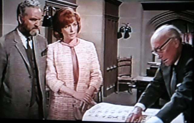 Archives librarian in Quatermass and the Pit