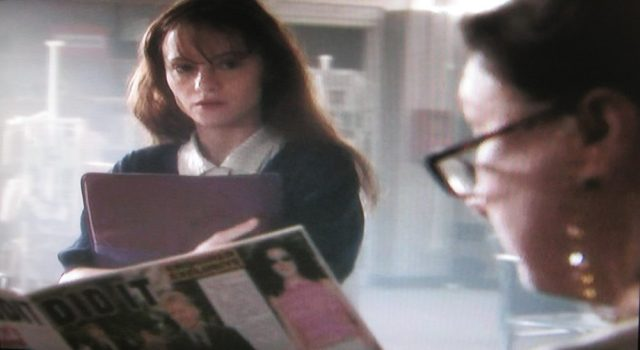 The school librarian in 'Carrie'