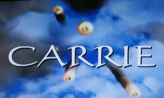 Title screen for the TV remake of Carrie