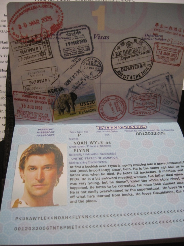 Reel Librarians:  Passport for The Librarian