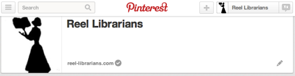 Reel Librarians  | Pinteret screenshot