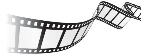 Filmstrip clip art