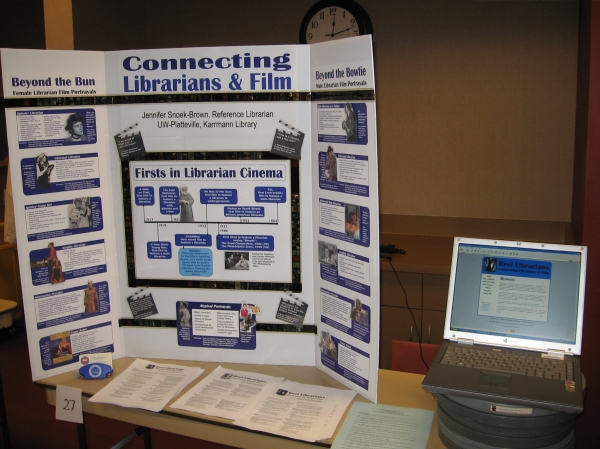 Reel Librarians  |  Research Poster Day, 2007