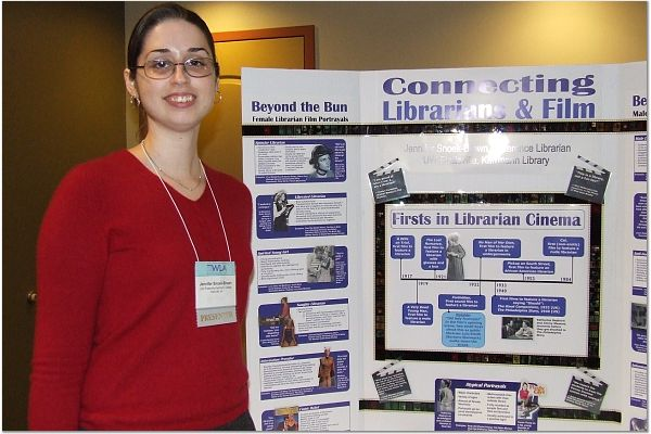 Reel Librarians  |  WLA Poster Session, 2006