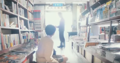 Screenshot from Library Wars trailer
