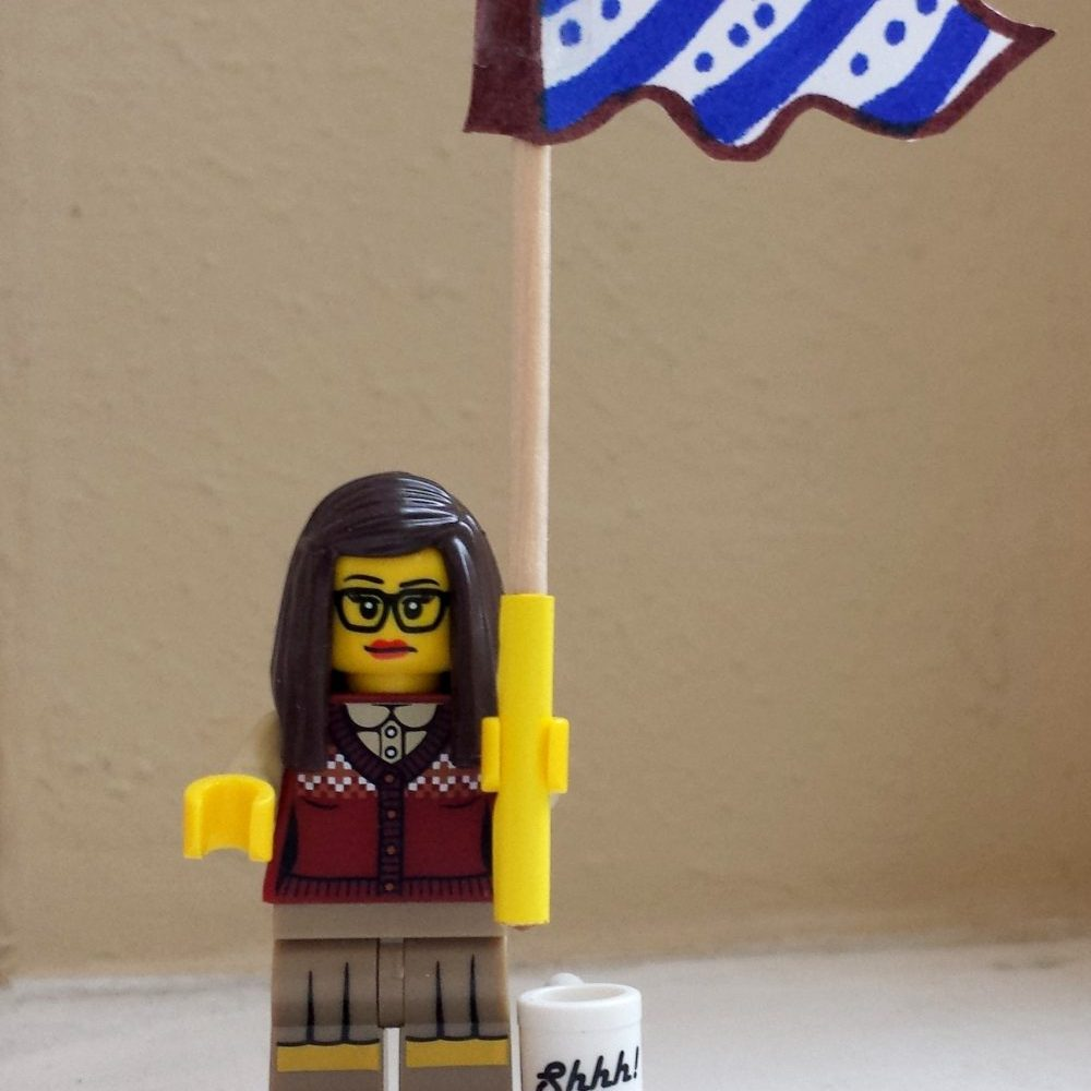 Reel Librarians | Lego Librarian giveaway winner