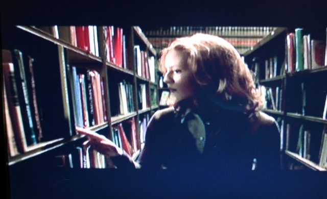 No call numbers on the library books in Urban Legend