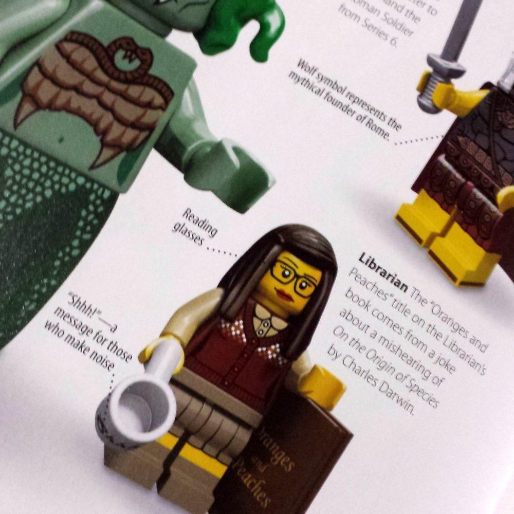 Reel Librarians | Lego minifigures, a visual history