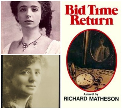 Reel Librarians  |  Maude Adams portraits + 'Bid Time Return' book cover
