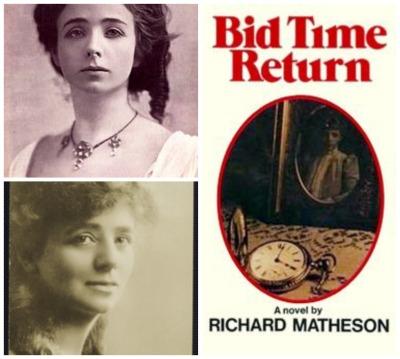 Reel Librarians  |  Maude Adams portraits + 'Bid Time Return' book cover