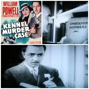 Reel Librarians  |  'The Kennel Murder Case' collage