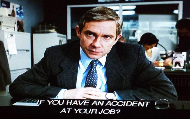 Screenshot from 'Fargo' pilot episode