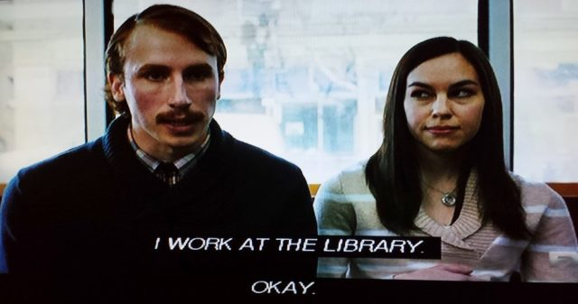 Lester the librarian