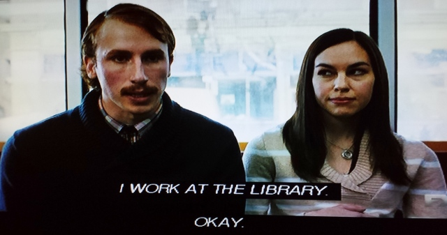 Reel Librarians  |  Screenshot from 'Fargo' pilot episode