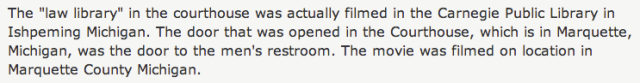 IMDb.com trivia of Anatomy of a Murder